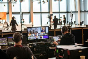 Virtuelle Konferenz - Studio Livestream - Eventplattform